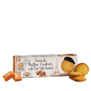 FRENCH BUTTER COOKIES CARAMEL 150gr