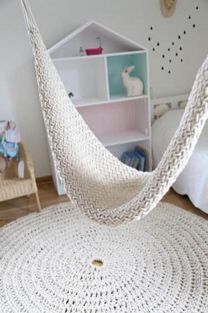 hamak hustawka pleciony knitted