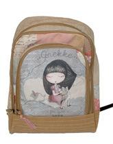 plecak z dziewczynką