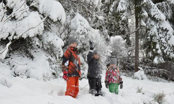 10 miejsc na zimowe wypady z dziećmi