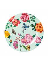 kwiatowy talerzyk