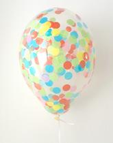 balony confetti