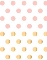zestaw naklejek kropki