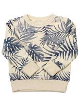Bluza w motyw roślinny