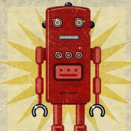 cd9bca2bcc0ee66844653cca74a1671f--robot-illustration-vintage-robots