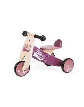Drewniany rowerek trójkołowy