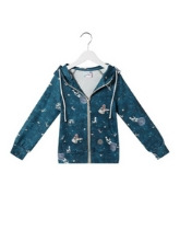 Bluza Zip Up Kids Cosmos