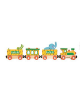 Pociąg drewniany Safari