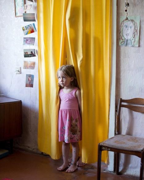 """Olya"" from the series ""Hidden Motherhood"" Russia, 2018"