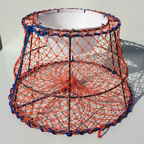 39 x 24 Mild Steel Nesting King Tanner and Dungeness Crab Trap  Ladner Traps