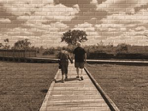 Dave & Barb at Fort Negly