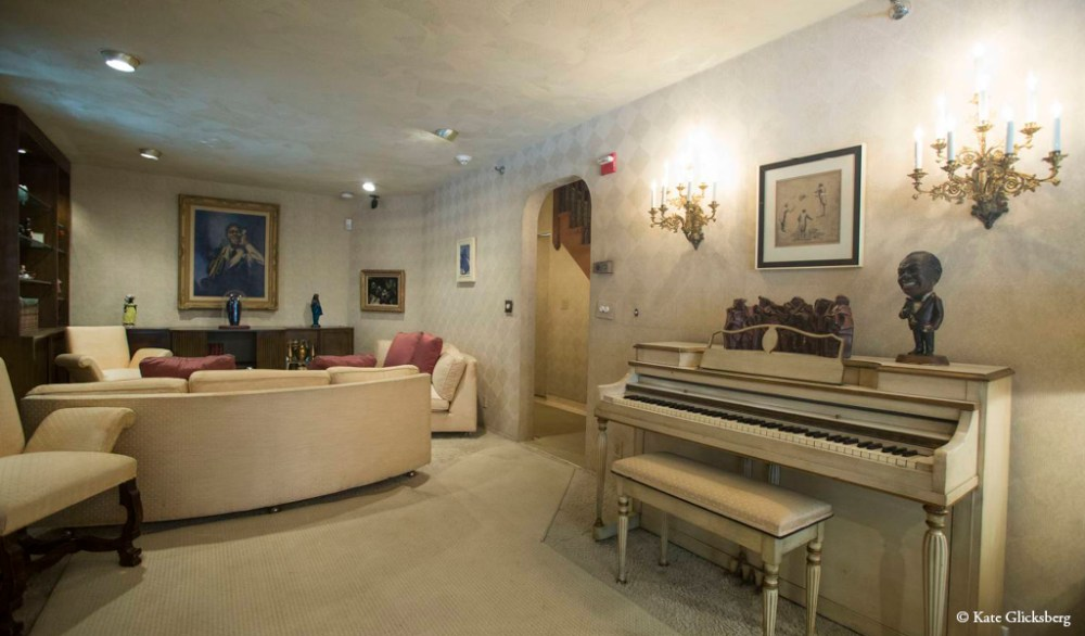 Louis Armstrong living room