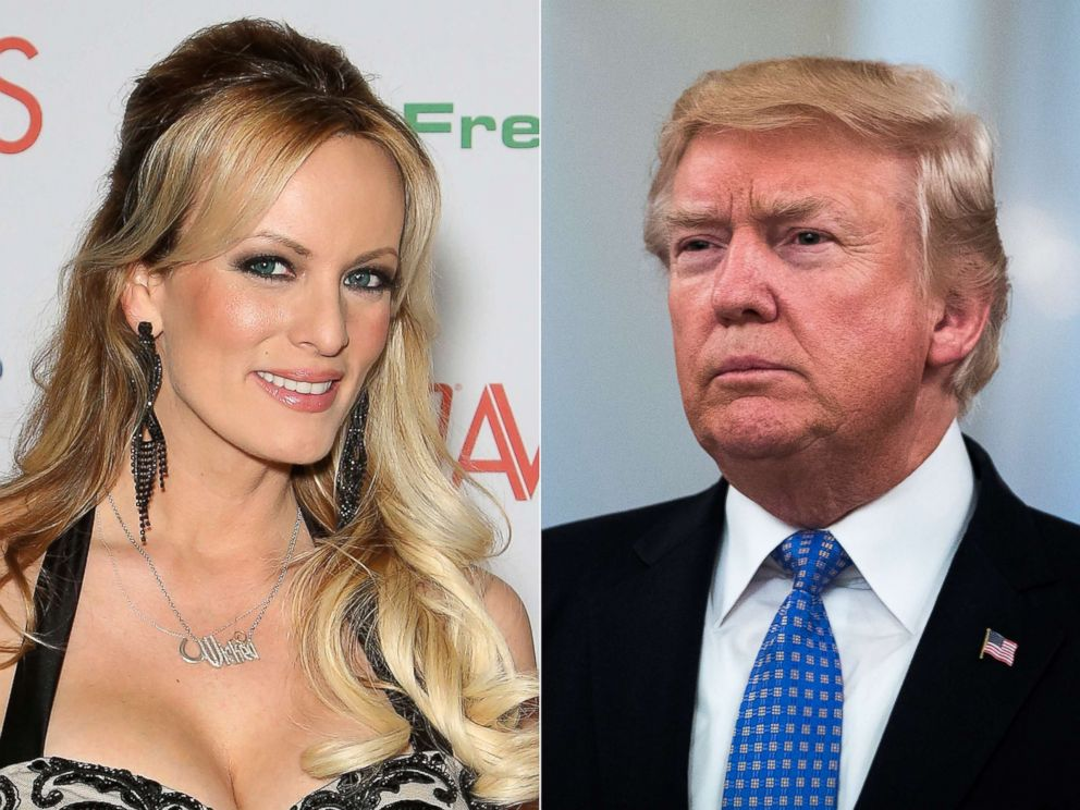 Stormy Daniels and DJT