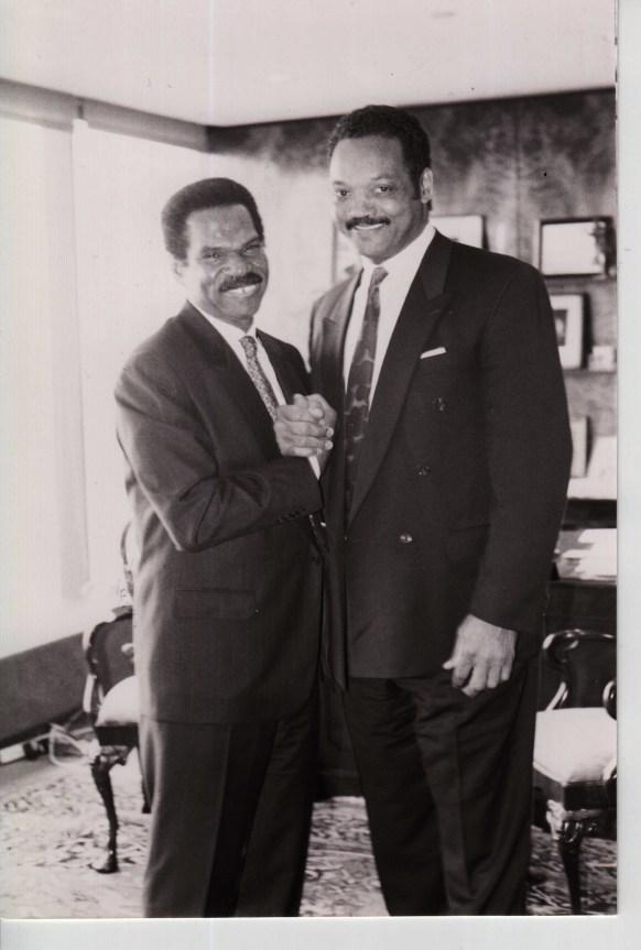 Reginald F. Lewis and Jessie Jackson