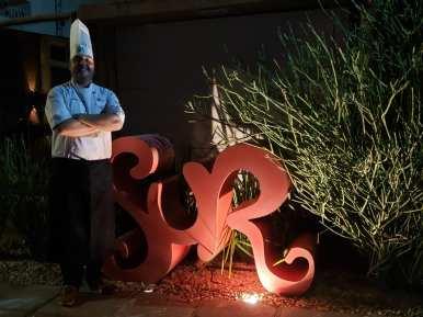 Serginho Jucá no Sur Arte e Gastronomia (foto: Elíria Buso)