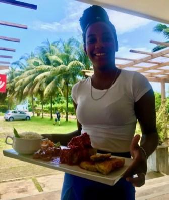 Legumes empanados muito temperados - Andrea Miramontes / Lado B Viagem