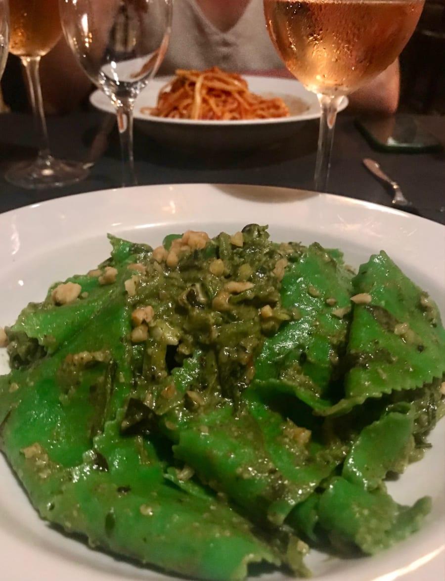 Parppadelle alla Dolce Vita é o vegetariano delicioso do Restaurante do Pippo em Paraty ( Andrea Miramontes)