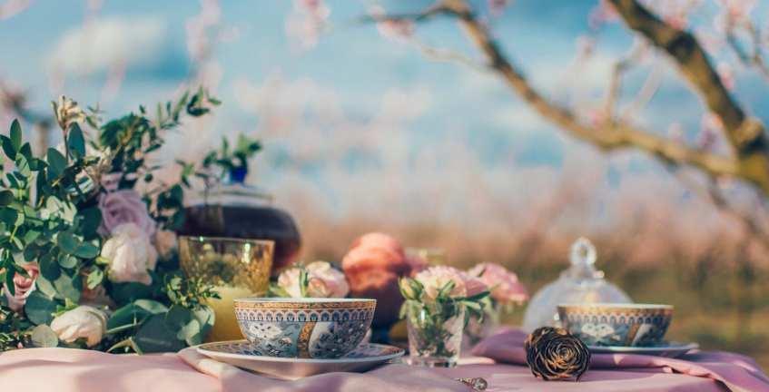 chá britânico