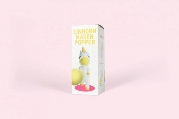 Einhorn-Nasenpopper Spielzeug