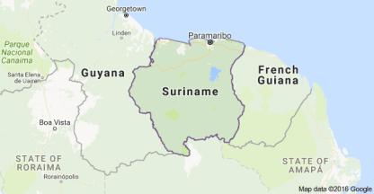 surinam-map