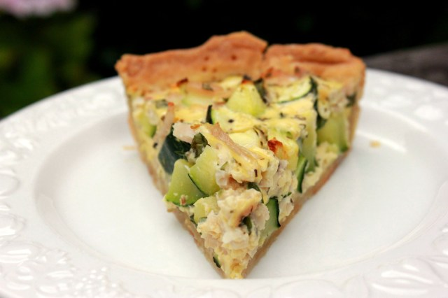 Quiche Courgettes