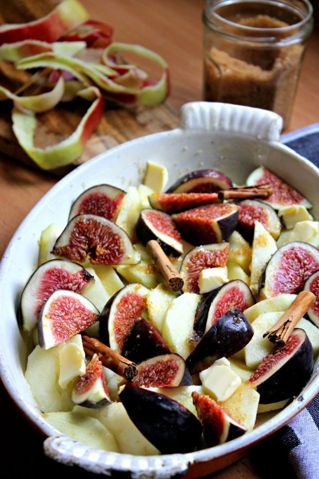 apple fig sauce