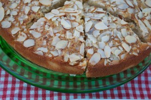 Brown Butter Almond Cake