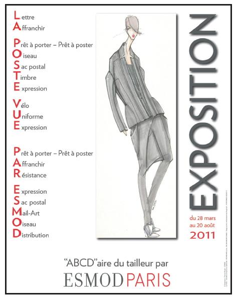 La Poste vue par… Esmod Paris : à partir du 28 mars