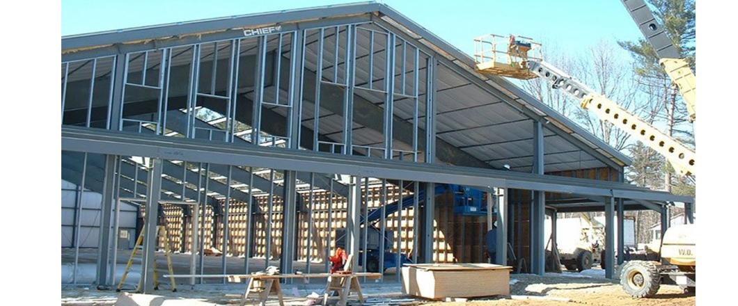Pre Engineered Buildings Conway NH Mt Washington Valley