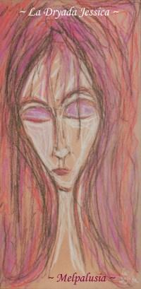 ~ Melpalusia ~ Pastel sur papier 40/60cm ~ 2009 ~