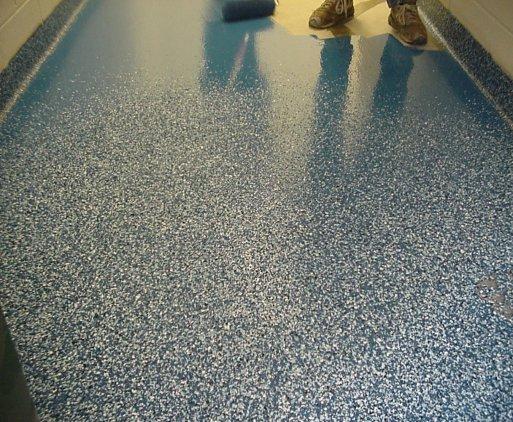 DIY Epoxy Garage Floor coating  ladulcelavie