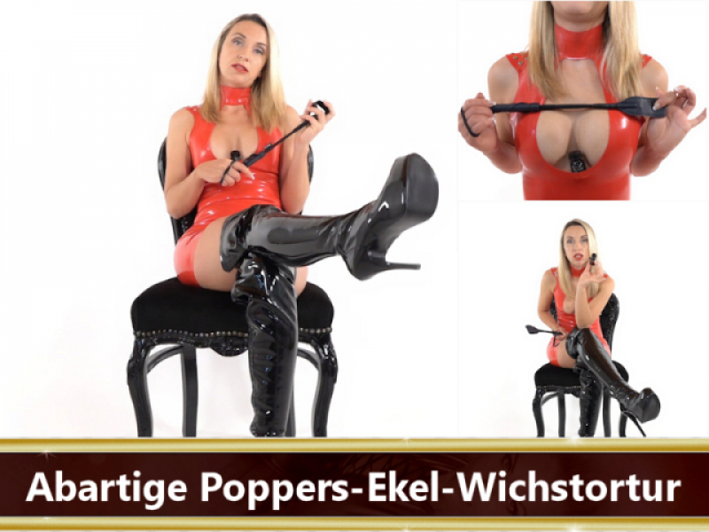 Latex Poppers Wichsanleitung