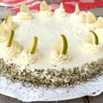 sommertorte Mango-Limetten-Frischkäse-Torte