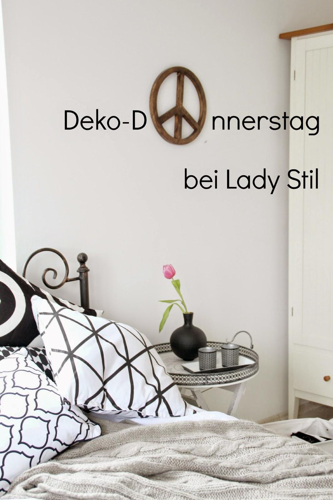 Neu! Der Deko-Donnerstag! Heute im Schlafzimmer! - lady-stil.de
