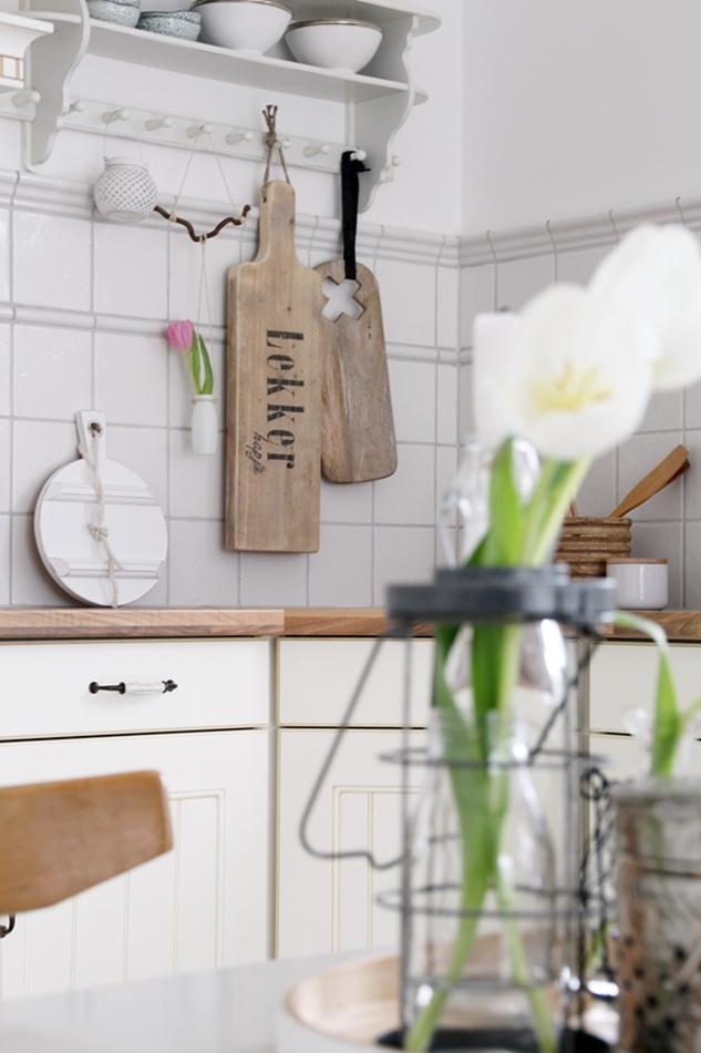 DIY Blumenampel Makramee mit Tulpe