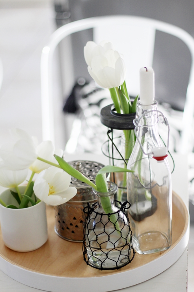 Luftpflanzen feiern ein Comeback, Blumenampel aus Makramee,Plants and Glass, Urban Jungle Blogger