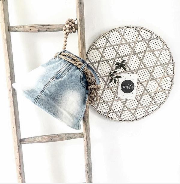 DIY Recycling und Upcycling aus alten Jeans, Jeandsblau-Trend, Kissen, Taschen, Lampen und vieles mehr
