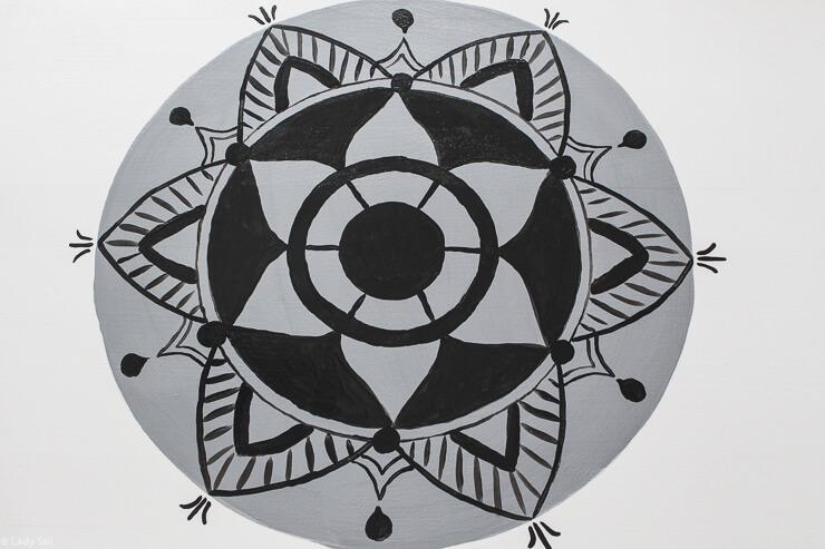 DIY Holz Gartenbank Sichtschutz Rankhilfe Windschutz Mandala Scandi Boho