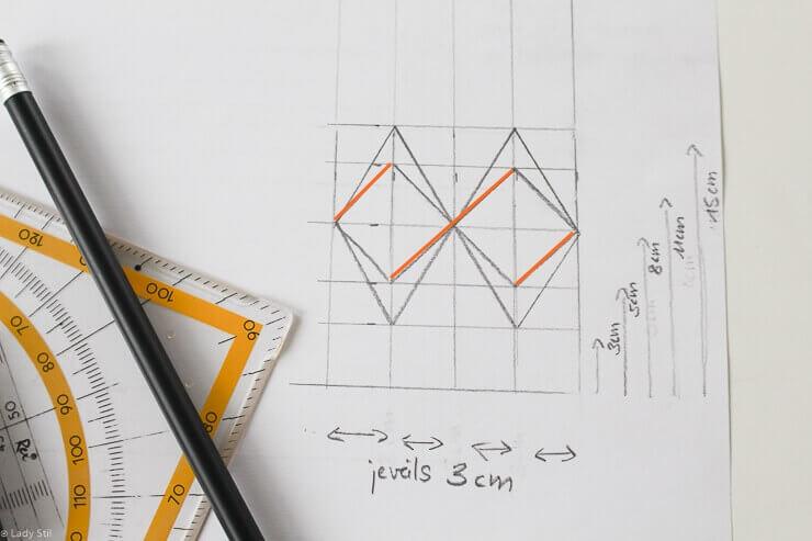 Stern falten Origami DIY Anleitung