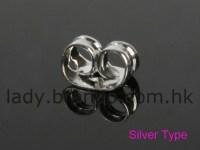 Pierced earring backs-4 types
