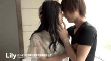 タツ/色白美女がイケメンとキスして舐めて触って突いて快楽に没頭するラブエッチ♡