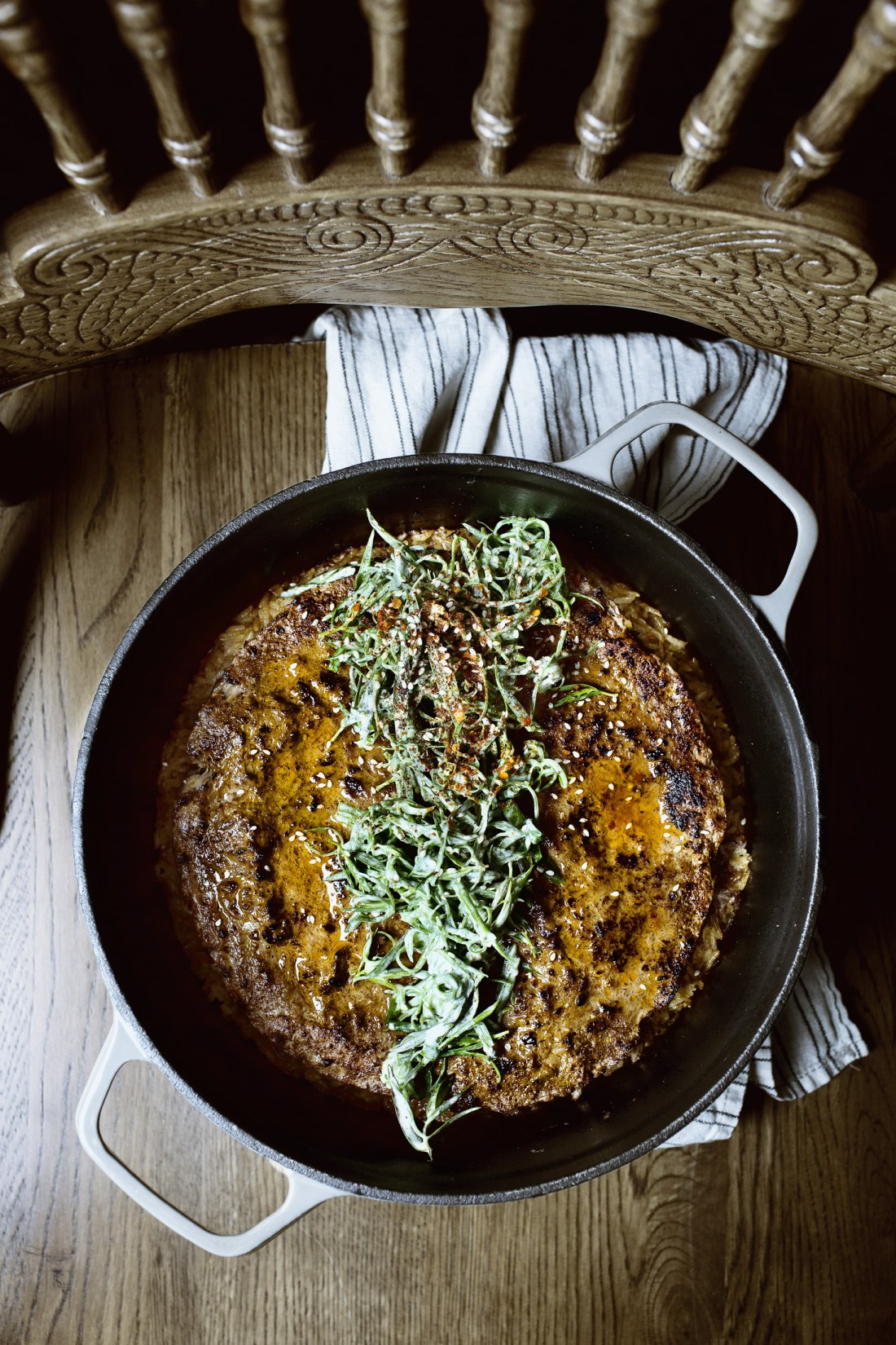 ONE-POT SICHUAN SAUSAGE (OR ANY SAUSAGE) RICE W HERBS SALAD