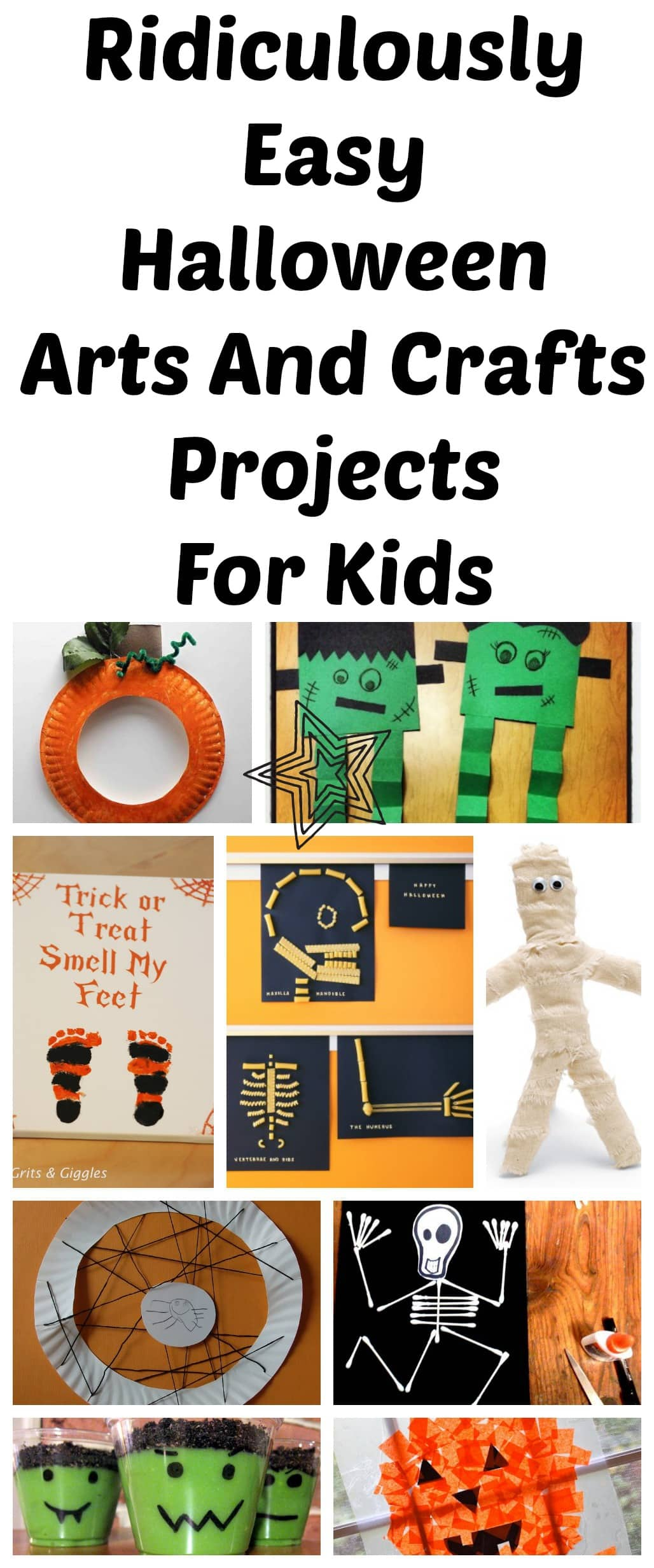 10 Ridiculously Easy Halloween Arts And Crafts Projects To