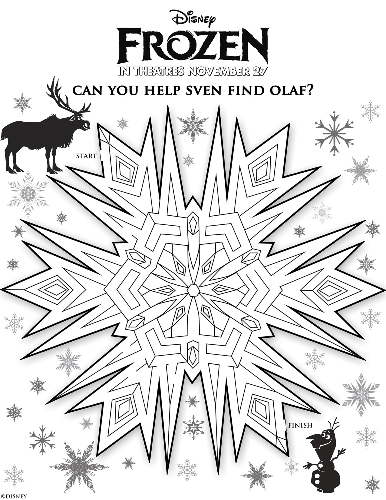 Disney S Frozen Free Printables For Kids