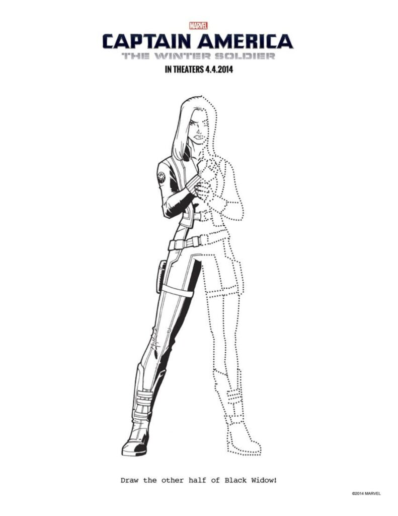 FREE Captain America Coloring Pages: Download Printables Here