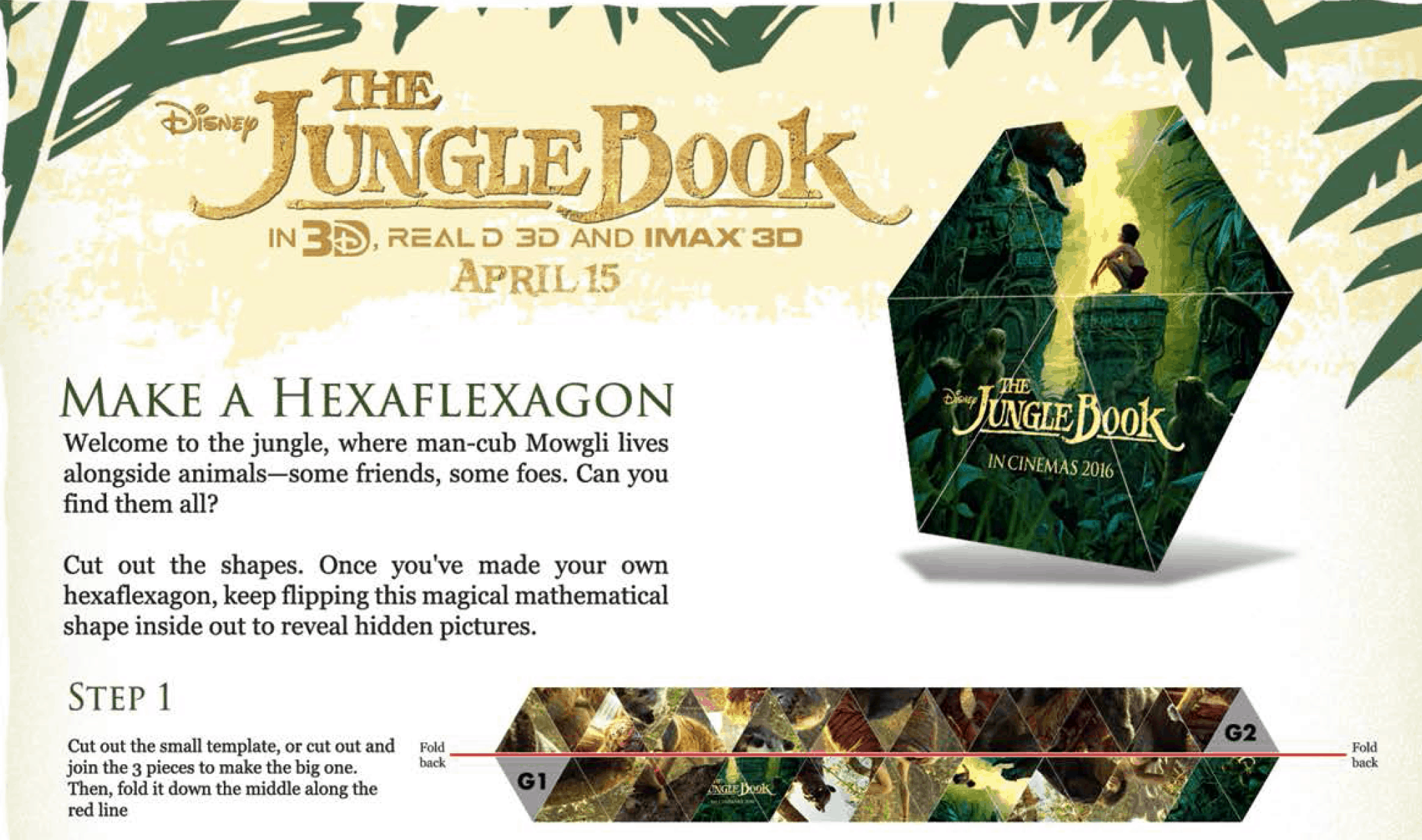 Free Printables The Jungle Book Activity Sheets