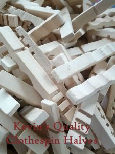 Kevin's Quality Clothespin Crafting Halves