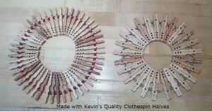 Clothespin Half Trivets