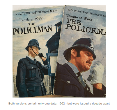 Editions of The Policeman
