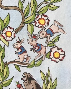 Endpaper rabbits